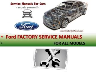 Ford Repair service manual