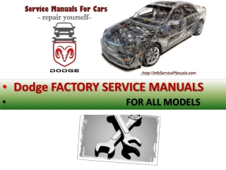 Dodge repair manual pdf