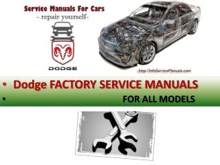 Dodge repair manual pdf