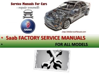 Saab service repair manual