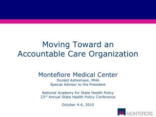 Moving Toward an 