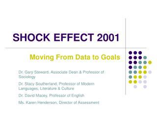 SHOCK EFFECT 2001