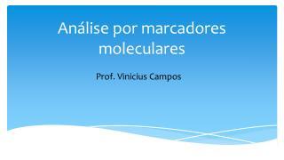Análise por marcadores moleculares