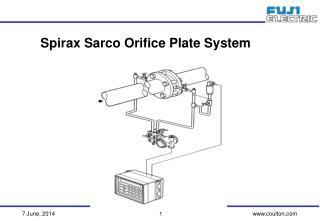 Spirax Sarco Orifice Plate System