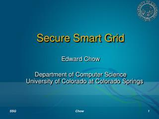Secure Smart Grid