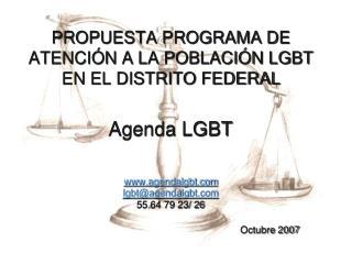 PROPUESTA PROGRAMA DE ATENCI N A LA POBLACI N LGBT  EN EL DISTRITO FEDERAL  Agenda LGBT   agendalgbt lgbtagendalgbt 55 6