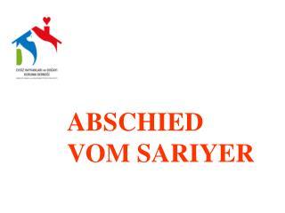 ABSCHIEDVOM SARIYER