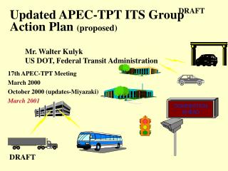 Updated APEC-TPT ITS Group