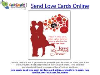 greeting cards for love