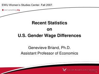 EWU Women's Studies Center. Fall 2007.