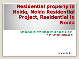 newly launched noida residential real estate ((aangan estat