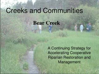 Creeks and Communities