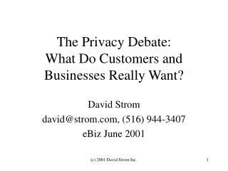 (c) 2001 David Strom Inc.