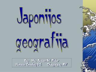 Japonijos geografija