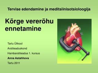 Tervise edendamine ja meditsiinisotsioloogija