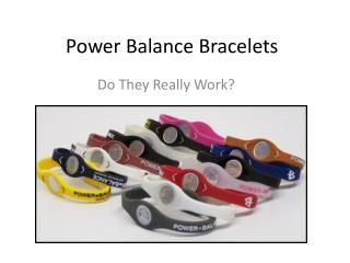 Power Balance Bracelets