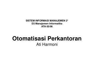 Ati Harmoni