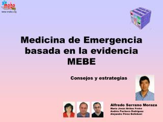 Medicina de Emergencia basada en la evidencia MEBE