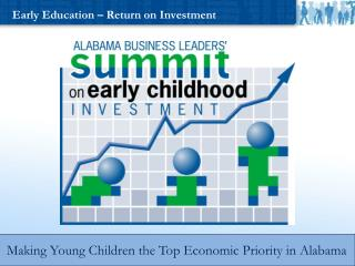 Early Education – Return on Investment