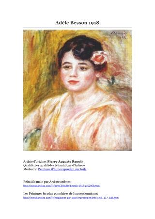 Adèle Besson 1918 -- Artisoo