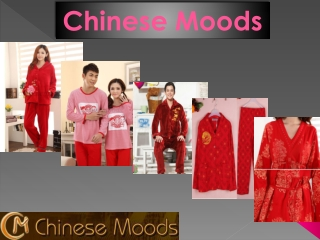 Buy Traditional Chinese Style Pajamas