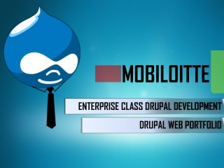 Stunning Website Design and Development by Drupal CMS