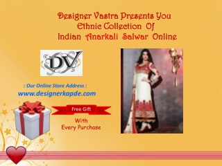 Own An Anarkali Now!!
