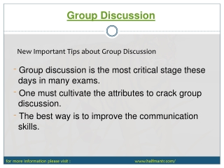 If you want to prepare topics about Group Discussion