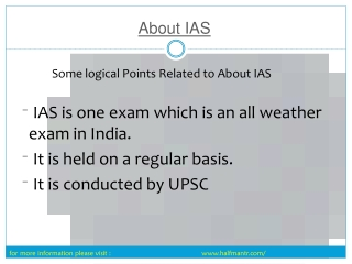 Get Support for study About IAS Exam