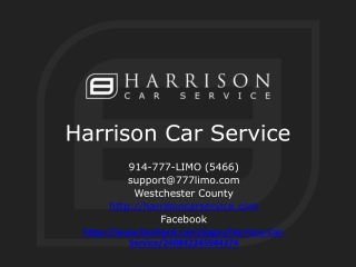 Car Service from Westchester to JFK