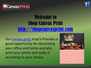photo canvas printing