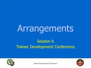 Trainer Development Conference