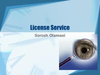 License Service