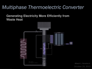 Generating Electricity with Thermoelectric Converter