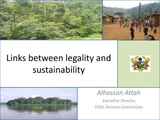 Links between legality and sustainability