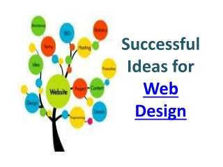 Successful Ideas for Web Design