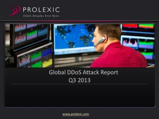 Global DDoS Attack Trends: Q3 2013| Presentation PPT PDF