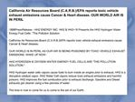 California Air Resources Board (C.A.R.B.)/EPA reports