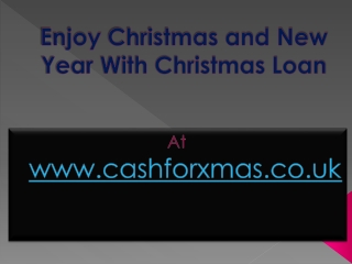How To Apply For Christmas Loan