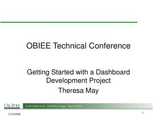 OBIEE Technical Conference