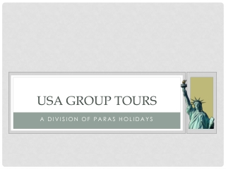 USA Group Tour