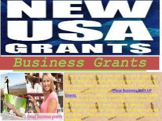 Meet the Business Grants and Government Business Grants With