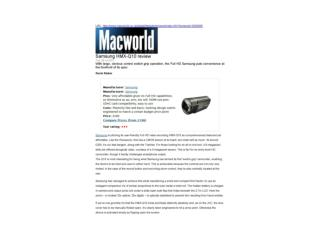 samsung hmx-q10 review (macworld)