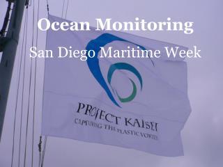 Ocean MonitoringSan Diego Maritime Week