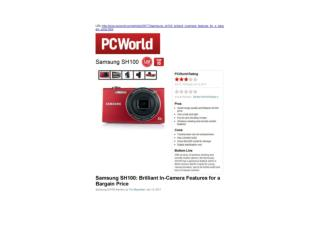 brilliant in-camera features for a bargain price (pcworld)