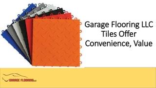 Garage Flooring LLC Tiles