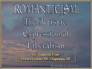 The Artistic Expression ofLiberalism