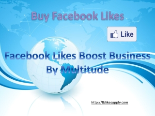 Why Buy Facebook Likes?