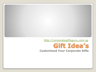 Select Your Own Customized Gifts