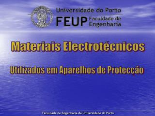 Materiais Electrotécnicos